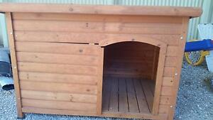 Large Dog Kennel Para Hills Salisbury Area Preview