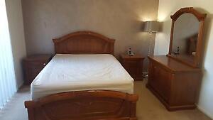 Handcrafted 4 Piece Bedroom Suite (Queen) Greenacre Bankstown Area Preview