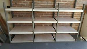 Modular timber shelves Kellyville The Hills District Preview