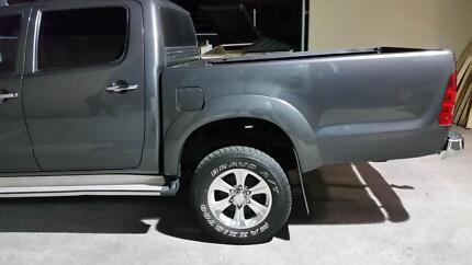 extended wellbody for Toyota Hilux Malaga Swan Area Preview