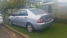 2006 Toyota Corolla Sedan Townsville City Preview