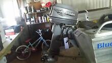 Johnson 25hp long shaft 2000 model with tank Bracken Ridge Brisbane North East Preview