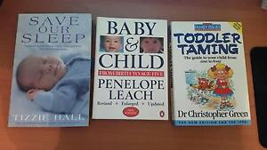 Save our Sleep, Toddler Taming and Baby and Child 3 x Books Woodvale Joondalup Area Preview