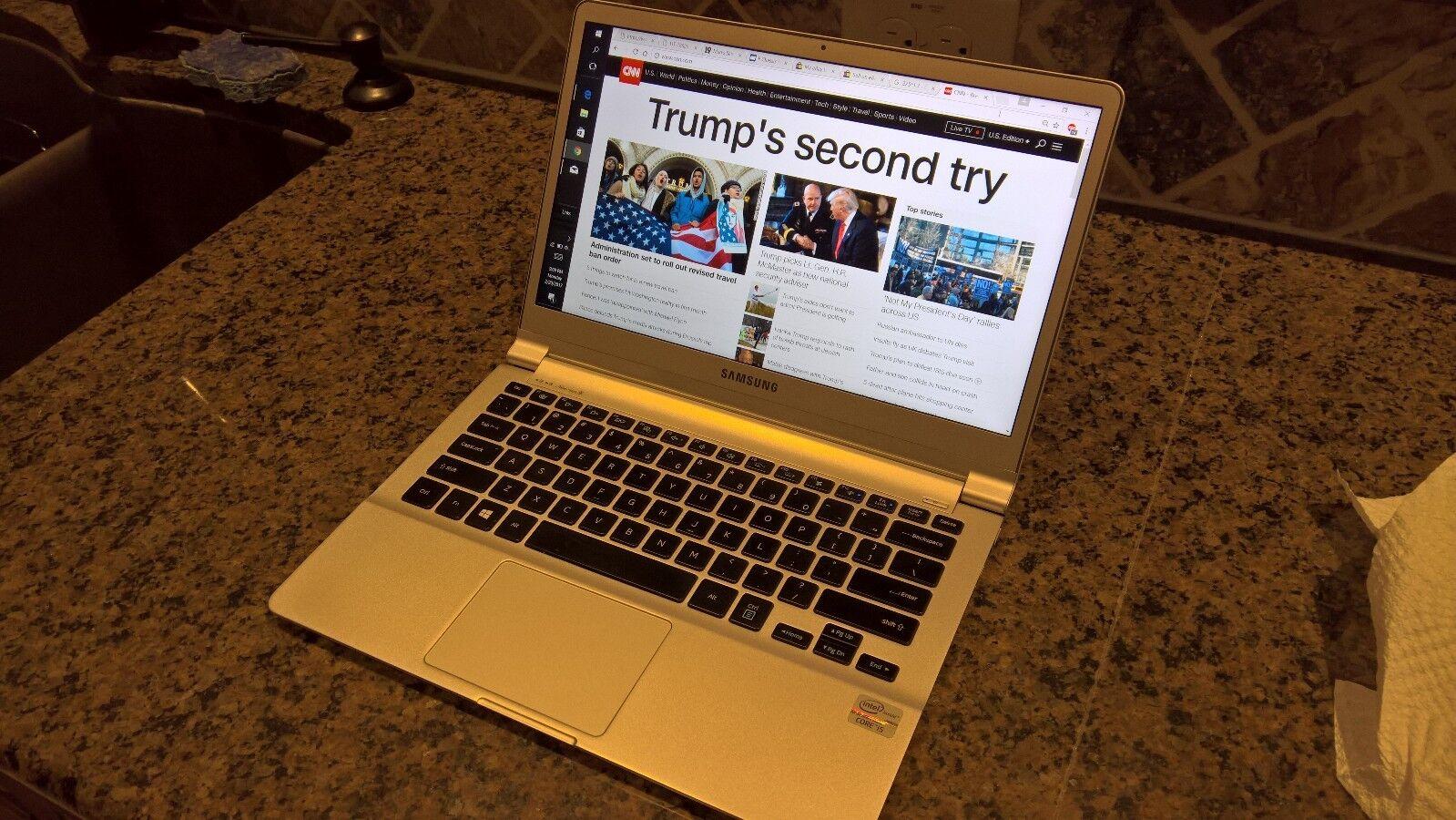 Samsung Series 9 NP900X3D Laptop Ultrabook Core i5 128GB SSD 4GB RAM Good Cond.