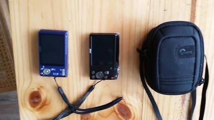 Sony and Nikon compact digital cameras