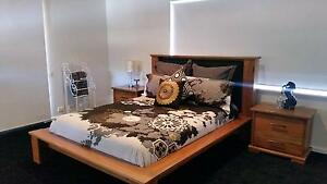 Solid Marri Timber Queen Bed frame, Dresser and 2 bedsides Cunderdin Cunderdin Area Preview