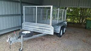 10x6 Tandem 2016 2t Galvanised Trailer incl rear Ramp Thornlands Redland Area Preview