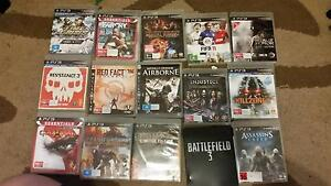 Various games ps3 Bossley Park Fairfield Area Preview