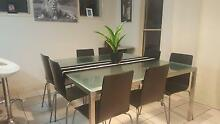 8 seater dining table and chairs Holmview Logan Area Preview