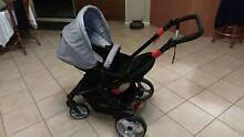 Steelcraft cruiser pram and capsule/carseat base Greenvale Hume Area Preview
