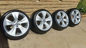 BMW Genuine 19Inch X5/3/5 Series Mags & Brand new Tyres Set (of4) Salisbury East Salisbury Area Preview
