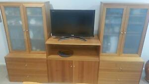 Entertainment and storage lounge unit Griffith South Canberra Preview