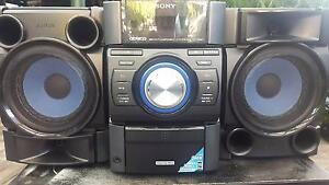 SONY HI-FI MINI STEREO GENEZI COMPONENT SYSTEM Punchbowl Canterbury Area Preview