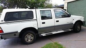 2001 Holden Rodeo Ute (Dual Fuel) Oakhurst Blacktown Area Preview