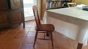 Wooden dining chairs x 4 Swanbourne Nedlands Area Preview