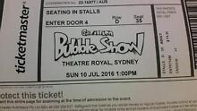 4 x tickets to The Gazillion Bubble Show Springwood Blue Mountains Preview