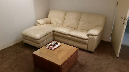 Leather sofa St Ives Ku-ring-gai Area Preview