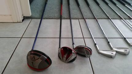 Wilson Golf Clubs, 2 x Titleist Irons & Bag Rutherford Maitland Area Preview