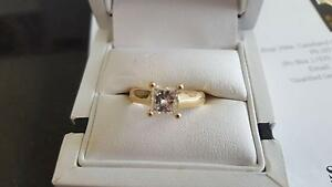 18ct yellow gold Diamond solitaire ring Mackay Mackay City Preview
