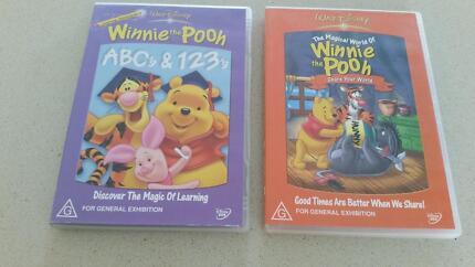 Kids DVS - Walt Disney Winnie The Pooh