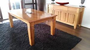 Dining Table, 6 Chairs, Buffet & Hall Table Echuca Campaspe Area Preview