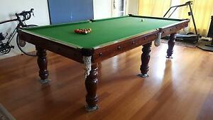 Custom made Impala Billiard Table with Table Tennis boards Balwyn Boroondara Area Preview