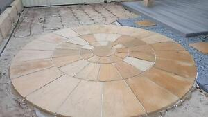 Decorative 3m Paving Circle Southern River Gosnells Area Preview