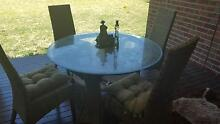 Outdoor Dining/Entertainment table with 4 chairs and cushons Cranbourne North Casey Area Preview