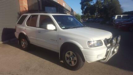 2000 Holden Frontera Wagon