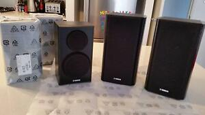 Yamaha NS-B150 (x3) and NS-B160 (2x) bookshelf AV speakers new Clarkson Wanneroo Area Preview