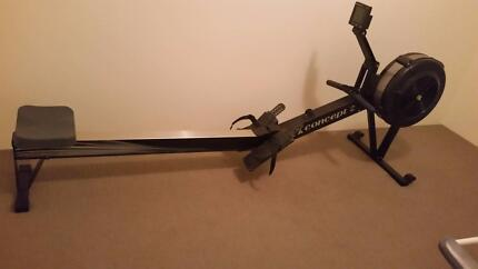 Concept 2 Rower with PM 5 performance monitor
