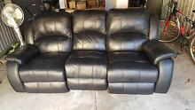 Leather Lounge / Sofa Recliner Sefton Park Port Adelaide Area Preview
