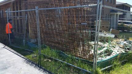 temp fencing - approx 24m