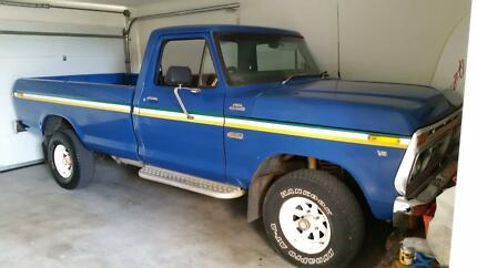 1977 Ford F100 Ute