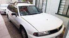 Mitsubishi Magna, Perfect backpacker car/camper van, build-in bed Spring Hill Brisbane North East Preview