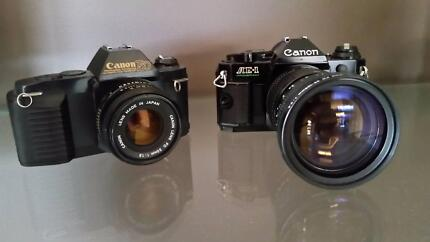 Cannon cameras and accessories