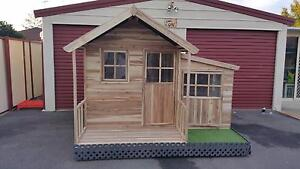 Manor ACACIA HARDWOOD Timber Kids Cubby House - Delivery Avail Kingswood Penrith Area Preview