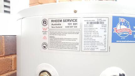 rheem 315. rheem electric hot water tank 315 t