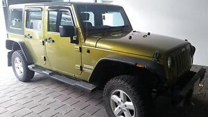 2007 Jeep Wrangler Unlimited 4x4 Alice Springs Alice Springs Area Preview