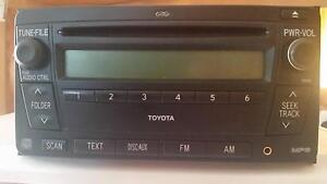 Toyota Prado 2008 model factory CD tuner in as new working order. Denman Muswellbrook Area Preview