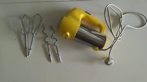 Cuisinart 3 speed yellow hand mixer Rose Bay Eastern Suburbs Preview