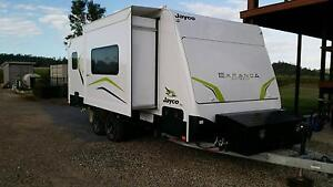 2014 Jayco Expanda 20.63 Outback Bunks Full Ensuite Like New Calen Mackay Surrounds Preview