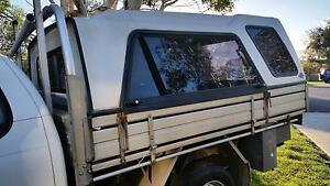 "UTE CANOPY ""FLEXIGLASS"" with 3 Lift up Access Windows with Struts Wonthaggi Bass Coast Preview"