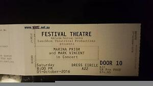 Marina Prior and Mark Vincent in concert Lockleys West Torrens Area Preview