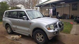 2001 Mitsubishi Pajero exceed Wagon Tenterfield Tenterfield Area Preview