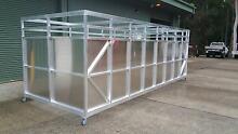 Full aluminium stock crate 5.9 x 2.3m Medowie Port Stephens Area Preview