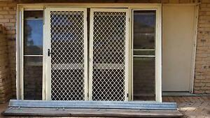 French doors with fly and security screens Forestdale Logan Area Preview