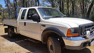 2002 Ford F250 Ute Chidlow Mundaring Area Preview