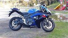 Immaculate 2007 gsxr600 Trevallyn West Tamar Preview