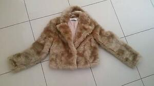 Faux fur jacket Arncliffe Rockdale Area Preview
